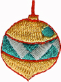 1 1/8'' by 7/8'' Ornament Applique1 1/8'' by 7/8'' Ornament Applique