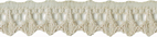 7/16'' Light Taupe Lace Trim7/16'' Light Taupe Lace Trim