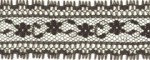 1 3/16'' Black Lace Trim1 3/16'' Black Lace Trim