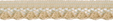 5/16'' Beige Lace Trim5/16'' Beige Lace Trim