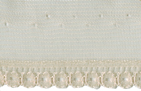 3/8'' Natural Lace with 7/8'' Selvage3/8'' Natural Lace with 7/8'' Selvage