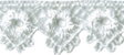 5/8'' White Venice Lace Trim5/8'' White Venice Lace Trim