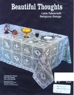 70'' Beautiful Thoughts Tablecloth70'' Beautiful Thoughts Tablecloth