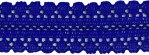 11/16'' Royal Blue Lace Trim11/16'' Royal Blue Lace Trim