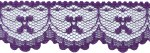 1 1/8'' Dark Purple Lace Trim1 1/8'' Dark Purple Lace Trim