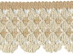 1 1/2'' Beige/Cream Lace Trim1 1/2'' Beige/Cream Lace Trim