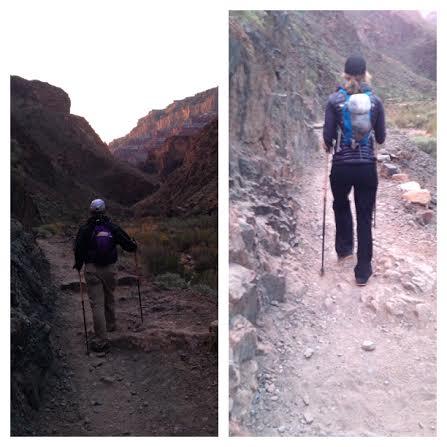 hikinggrandcanyon