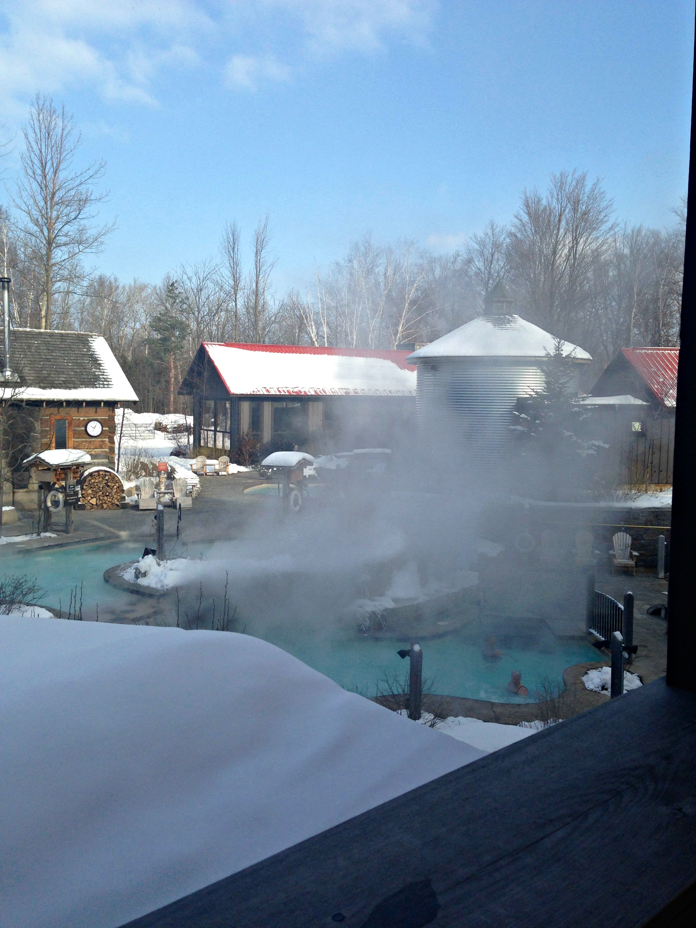 Scandinavian Spa at Blue Mountain - Laces and Lattes