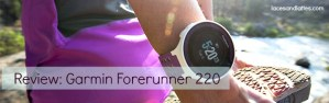Review: Garmin Forerunner 220