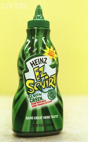 HEINZ UNVEILS NEW GREEN KETCHUP