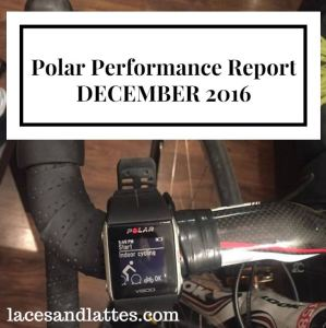 Polar Performance Project and Goal Wrap Up – December 2016