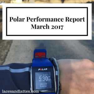 March 2017: Polar Performance Report