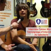 Intermittent du spectacle - Témoignage de Fabien Mornet, guitariste professionnel