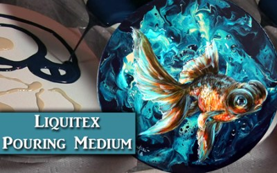 Liquitex Pouring Medium Review and Demonstration