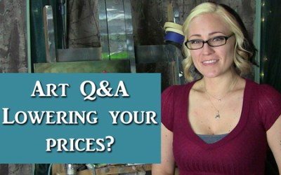 Art Q&A Lowering the price of your artwork