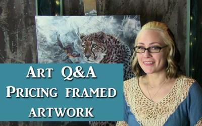 Art Q&A pricing