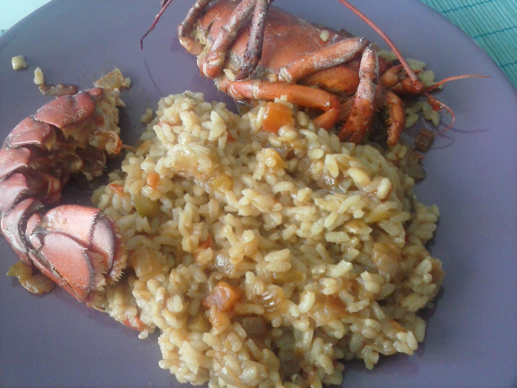 C mo preparar arroz y bogavante la cocina de tendencias for Como cocinar un bogavante