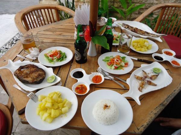 Comida en Lombok