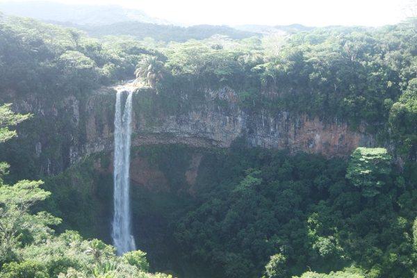 La cascada de Chamarel