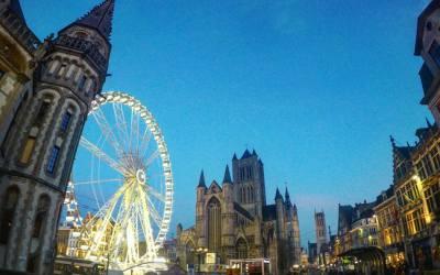 Gante, mercadillos de Navidad en Flandes