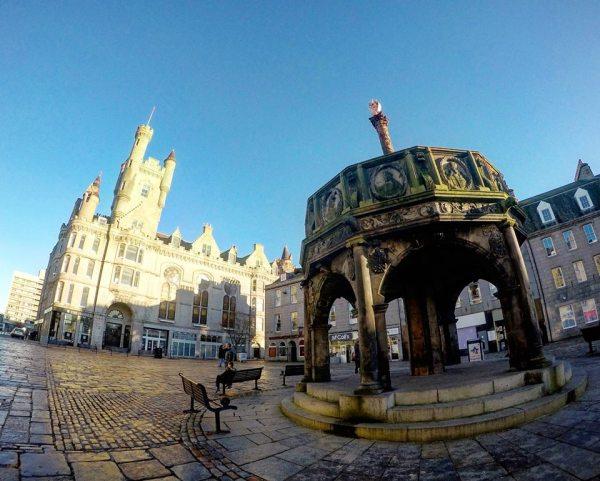 Cruz del Mercado, qué ver en Aberdeen