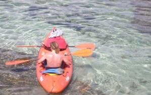El agua cristalina de la paradisíaca Corn Island. Foto | Sergio León | La Costeñísima