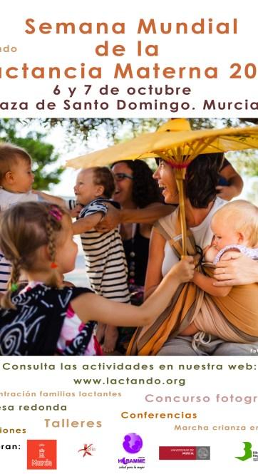 Cartel de Lactando Semana 2012