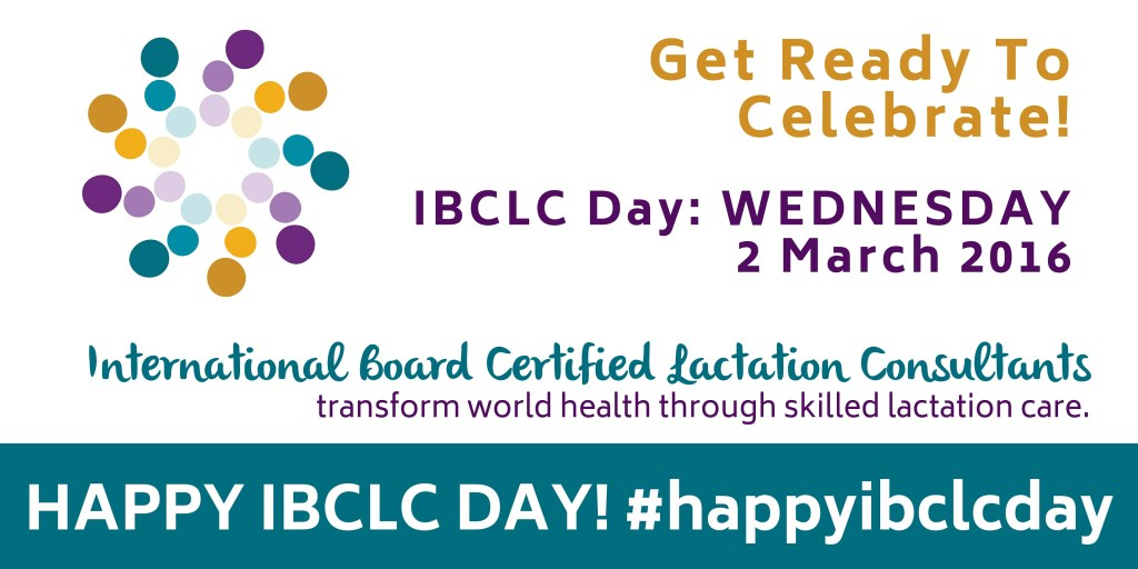 HAPPY IBCLC DAY! #happyibclcday blog post