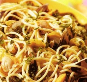 Spaghetti aux palourdes