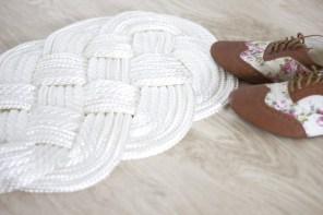 [ DIY ] Un tapis en corde tissé pour habiller l'entrée