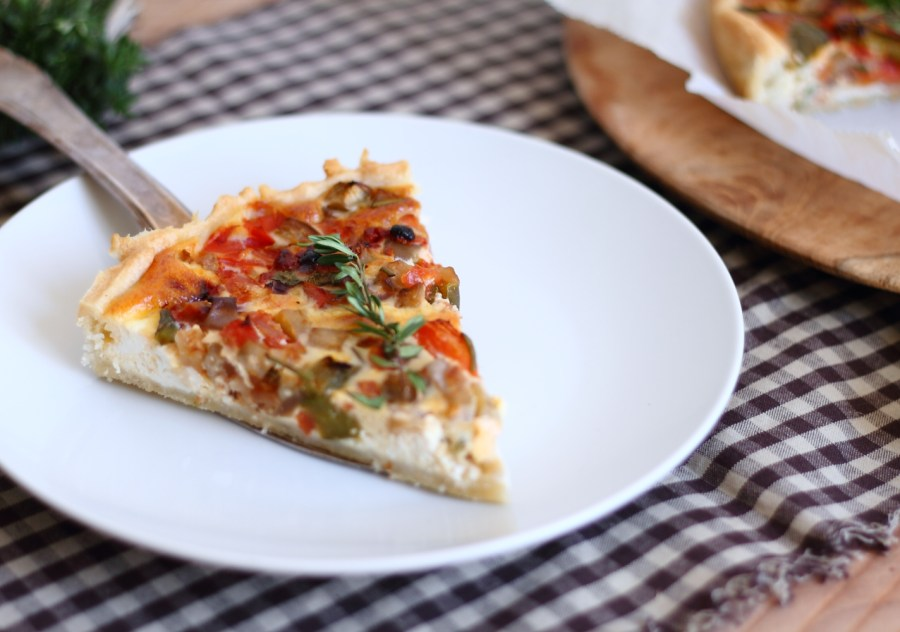 Quiche ratatouille 4