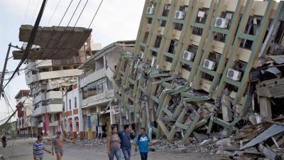 A 525 asciende la cifra de muertos por sismo en Ecuador - La Demajagua