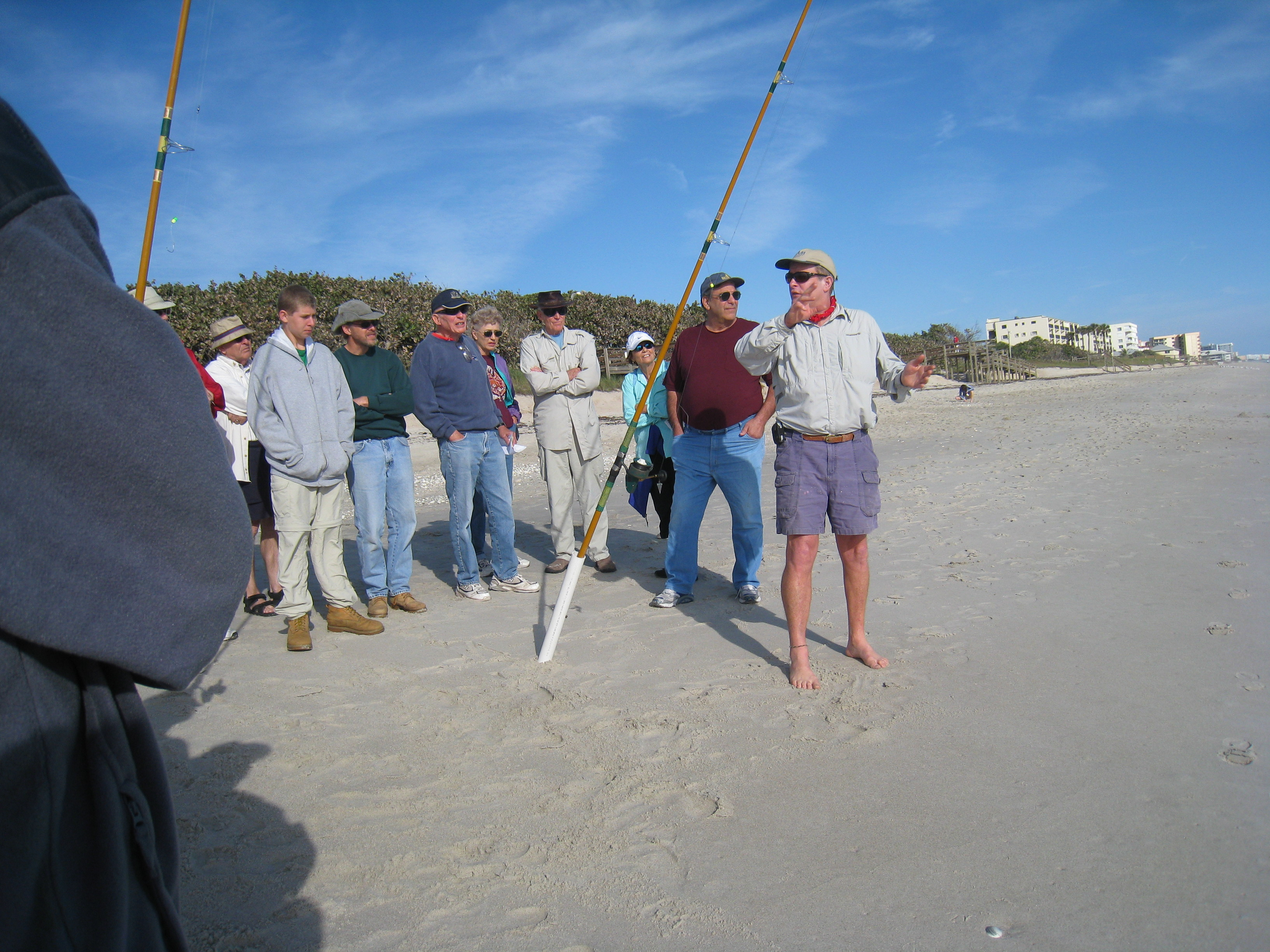 Llgf surf casting clinic in stuart march 19 ladies let for Lets go fishing