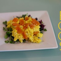 Scrambled Eggs and Smoked Salmon
