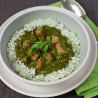 Leah Chase - Gumbo Z'Herbes recipe for Maundy Thursday