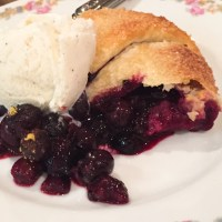 Michelle Branch's Blueberry Galette
