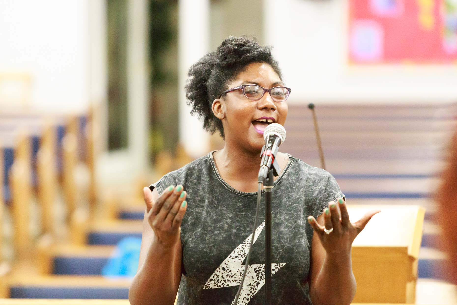 """Session Stories: Someone's Choir Director"" with Shedrick Flowers"