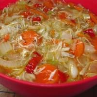 Cole Slaw Soup