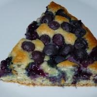 Coconut Oil Blueberry Cake