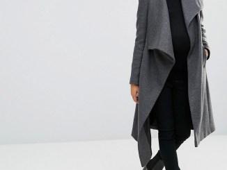 Maternity Coat ASOS open