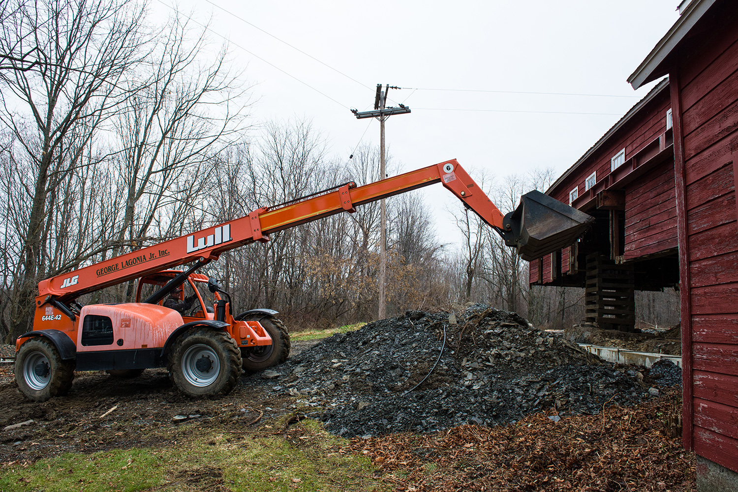 The right equipment for every Job. Spencertown, NY.