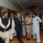 CM Punjab Mian Shahbaz Sharif visits Malala Yousafzai Army Hospital Rawalpindi 13