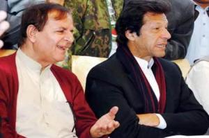 Imran Khan,Javaid Hashmi