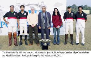 RHI POLO CUP 2013