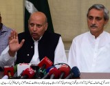 Ch Sarwar,Jahangir Tareen announces strategy to win LG Elections in Punjab