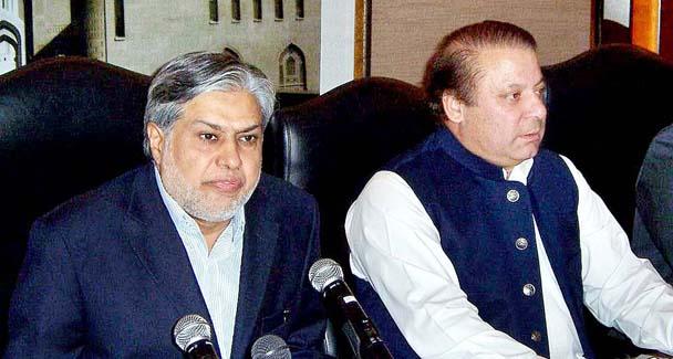 PM Nawaz Sharif appreciates Ishaq Dar for unprecedented economic performance