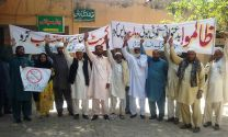 Anti Corruption Alliance observes 1st May as Black Day in Mandi Bahauddin