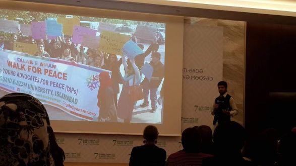 Pak youth appreciated at UN conference in Azerbaijan