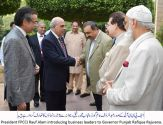 Governor Punjab lauds role of business community in national development