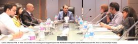 World Bank delegation visits PITB to collaborate in e-Rozgar Program